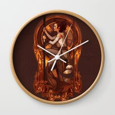 The Girl from Jakku Wall Clock