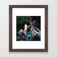 dollar Framed Art Print