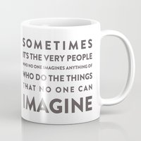 Imagine - Quotable Series Mug