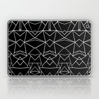 Ab Mirror Black Laptop & iPad Skin