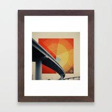 Orange Crush II Framed Art Print