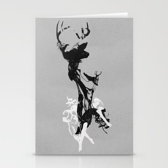 Last time I was a Deer Stationery Card