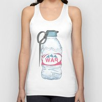 Water Bottle Grenade  Unisex Tank Top