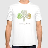 Ireland Forever Mens Fitted Tee White SMALL