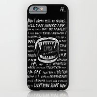 OMG! I AM A GAY VAMPIRE!! iPhone 6 Slim Case