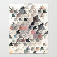 as the curtain falls (variant) Canvas Print