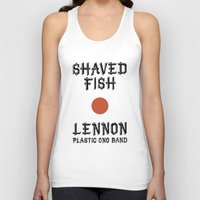 Shaved fish Unisex Tank Top