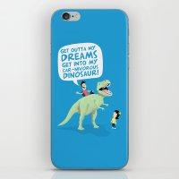 my car-nivorous dinosaur iPhone & iPod Skin