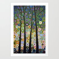 Falling Light Art Print