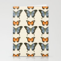 Butterfly Pattern 1 Stationery Cards