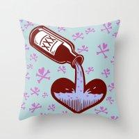 Drunkenheart Throw Pillow