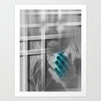 White Noise - Variant II… Art Print