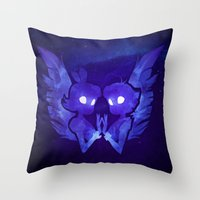Raven And Crow Throw Pillow
