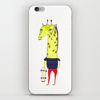 Giraffe Dude. iPhone & iPod Skin