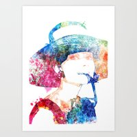 audrey hepburn Art Prints featuring Audrey Hepburn by Heaven7