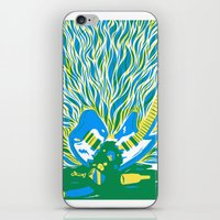 Guitar Explosion iPhone & iPod Skin