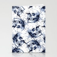 Skull Pattern Stationery Cards