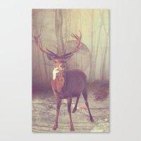 Fairy tale : deer Canvas Print