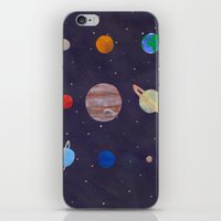 The 9 Planets! iPhone & iPod Skin