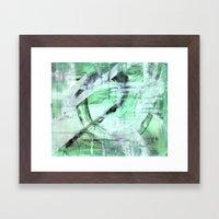MAY Flower Framed Art Print
