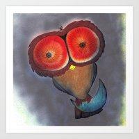 Night Owl #1 Art Print