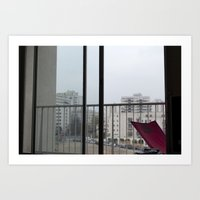 OURCQ VIEW Art Print