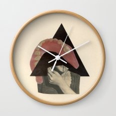 Talking Circles to Empty Faces Wall Clock