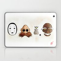 Make the Unlikeliest of Friends, Wherever You Go 2 Laptop & iPad Skin