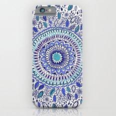 Indigo Flowered Mandala Slim Case iPhone 6s