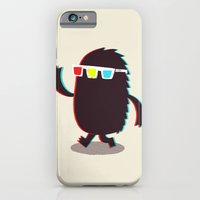 iPhone & iPod Case featuring MONSTER 3d by Monster Riot