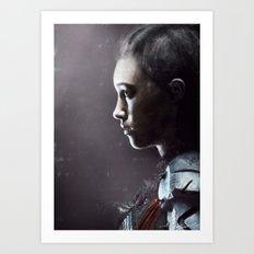 Commander Lexa 2 Art Print