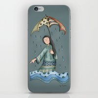 Sad blueness iPhone & iPod Skin
