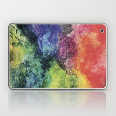 Rainbow Tie Dye Watercolor Laptop & iPad Skin