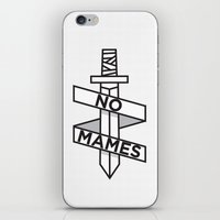 NO MAMES iPhone & iPod Skin