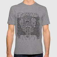 Fuck It All Mens Fitted Tee Athletic Grey SMALL