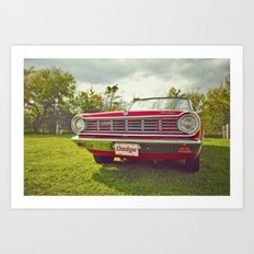 Ready for a ride! Art Print
