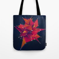 Tote Bag featuring Architecture Polygons by Msimioni
