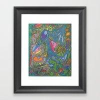 King Midas Framed Art Print