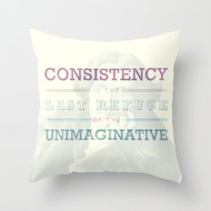 Last Refuge Throw Pillow