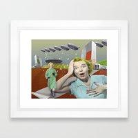 information Framed Art Print