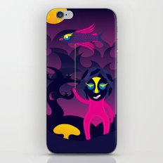 Night of the forest spirit iPhone & iPod Skin