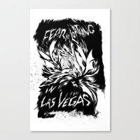 Fear & Loathing Inks Canvas Print