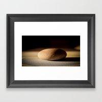 Pebble Framed Art Print
