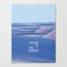 Listen to the Silent #3 Canvas Print