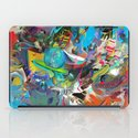 Microcrystalline Tendrils iPad Case