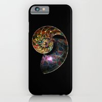 Fossilized Nautilus Shel… iPhone 6 Slim Case