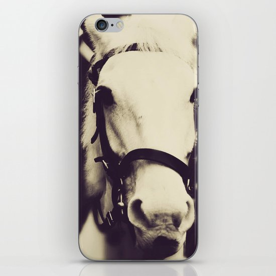 White Horse iPhone & iPod Skin