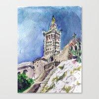 Notre-Dame De La Garde, … Canvas Print