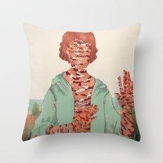And You Fade Away Throw Pillow