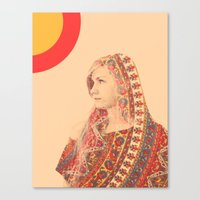 Tapestry (Double Exposure) Canvas Print